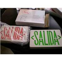 Salida Style LED Emergency Exit Light