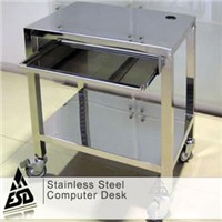 Stainless Steel Computer Desk