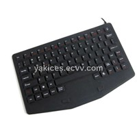 Touchpad Industrial Silicone Waterproof Keyboard (TYRK1000)