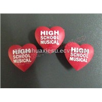 Shoe Charms-Red Heart