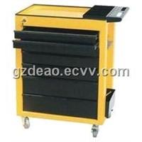 Yellow Tool Storage Cabinet