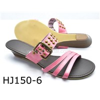 Ladies Sandal (HJ150-6 PEACH)