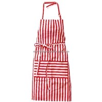 Red Butcher Apron