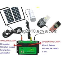 Solar Lighting Kit with Mobile Charging