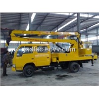 Dongfeng Xiaobawang Up & Down Aerial Platform Truck - 18m