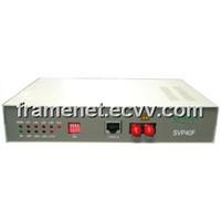 4*E1+1*ETH Optical Ethernet Bridge (HDLC)