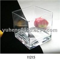 2011 Fashion Style Glass Candle Holder (RH-G-11215)