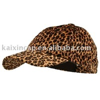 Cheetah Print Baseball Cap-Small