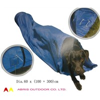 Dia 60 x 300 Cm Pet (Dog) Foldable Playing Tunnel Tent