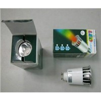 GU10 5W RGB led bulbs with remote controller