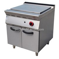 Gas French Hot-Plate with Cabinet