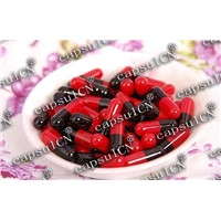 Hard Empty Capsules - Red, Black