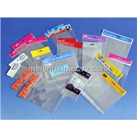 Header Bags, OPP Resealable Bag, Stationery Bag