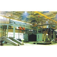 QT37 Series Double Hangers Pass-Through Shot Blasting Machine