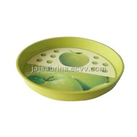 Tin tray, metal tray, fruit tray,
