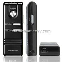 Digital Voice Recorder with Compact Size & Mini DV