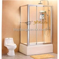 Rectangular Sliding Doors Shower Room