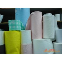 spunlace non-woven fabric & needle pounched non-woven fabric