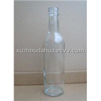 wine bottle & glass wine bottle