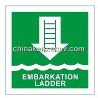 Marine Safety Signs - Embarkation Ladder