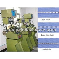 box chain making machine jewelry chain machine