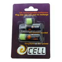 AA USB Battery Pack - 1450mAh