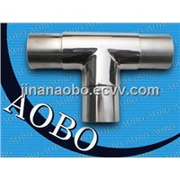Stainless Steel Handrail Tee Connector