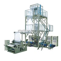 Three-layers Common-extruding Rotary Die Film Blowing Machine