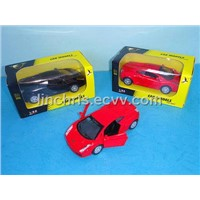 1:32 Alloy Pull Back Car