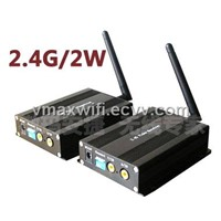 2.4G4 channel 2000mW Wireless Video Transmitter