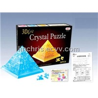 3D Pyramid Puzzle Toy