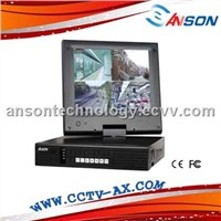 4 channel lcd dvr combo