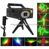7 Colours Animate Mini Stage Laser Lighting