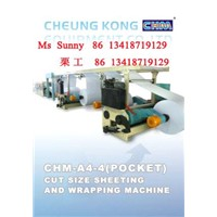 A4 Sheeting  & Wrapping Machine