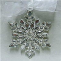 Christmas tree decor snowflake