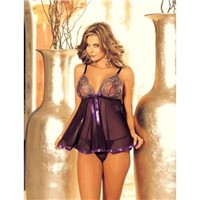 Classic Fancy Hot Woman's Woman Sexy Babydoll