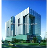 Green Curtain Wall PVDF Aluminum Composite Panel