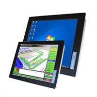 Industrial display monitor with 17 lcd panel
