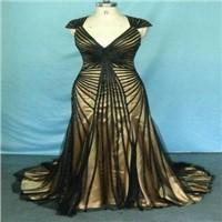 Ribbon Decorated Evening Dress