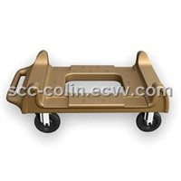 Rotomolded Dolly for food pan carrier