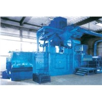 Round Spring Shot Blasting Machine