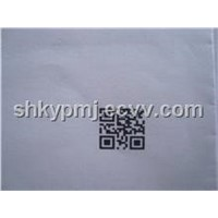 Two dimensional barcode to spurt the code machine ,