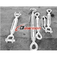 U.S. Type Drop Forged Turnbuckleshot dipped galvanized -China Rigging Ma.