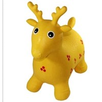 inflatable deer animal toy