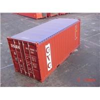 tarpaulin open top container