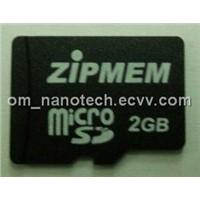 ZIPMEM / AUM Micro SD Memory Cards - 2GB, 4GB