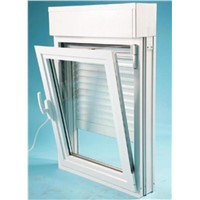 Double Glazed Window Combined to Roller Shutter - Eco-Friendly
