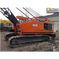 Hitachi Kh125 50t Crawler Crane