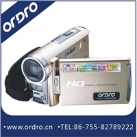 Handy camcorder with HD720 and touch panel