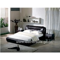 Leather Bed   (J012A)